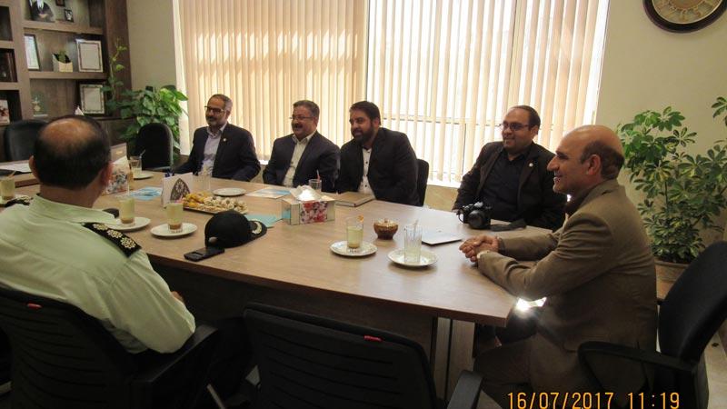 بازدید مدیران استان از موسسه