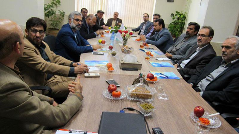 بازدید اعضای محترم شورای اسلامی شهر سمنان از موسسه نیکوکاران راه آسمان
