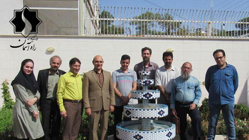 نشست صمیمی هم اندیشی با حضور جمعی از هنرمندان برجسته استان سمنان