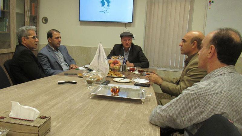 بازدید مدیر کل دفتر استاندار و روابط عمومی استانداری سمنان از موسسه راه آسمان