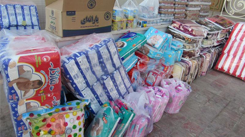 ارسال کمکهای نقدی و غیر نقدی همیاران راه آسمان به مناطق زلزله زده کرمانشاه