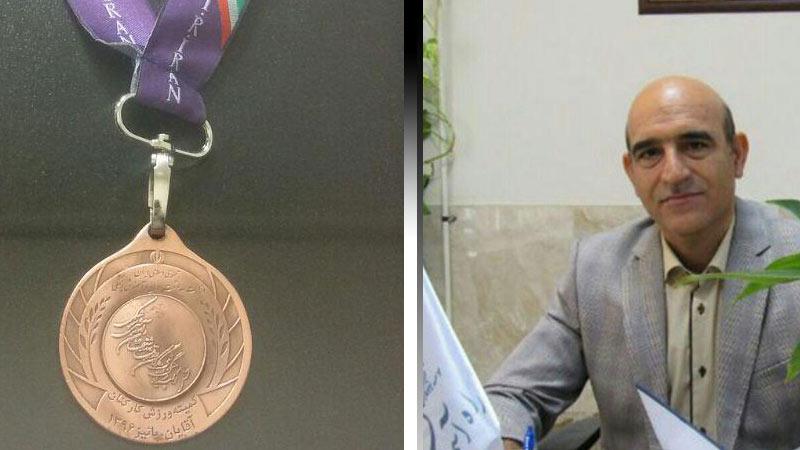 کسب مقام سوم مسابقات شنا در المپیاد کشوری وزارت بهداشت، درمان و آموزش پزشکی توسط مدیر عامل راه آسمان