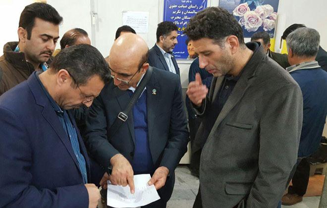 بازدید مشترک کمیته فنی مهندسی و کمیته پزشکی از کلینیک تخصصی25دی 1396