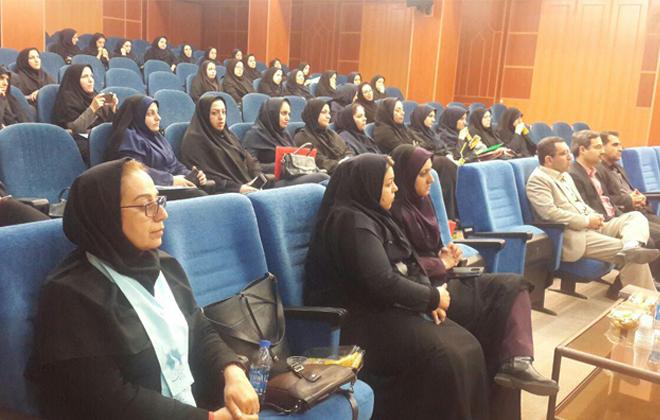 """همایش آموزش پیشگیری از سرطان در شرکت مخابرات توسط کمیته آموزش و پیشگیری """"راه آسمان"""""""