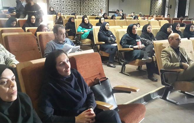 همایش آموزش و پیشگیری از سرطان در بیمارستان کوثر مورخ 15 و16 بهمن 1396