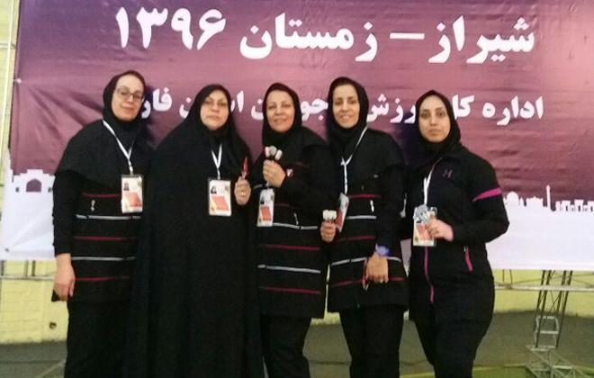 کسب مقام سوم کشوری دارت استان سمنان به سرپرستی سرکار خانوم اعتمادی