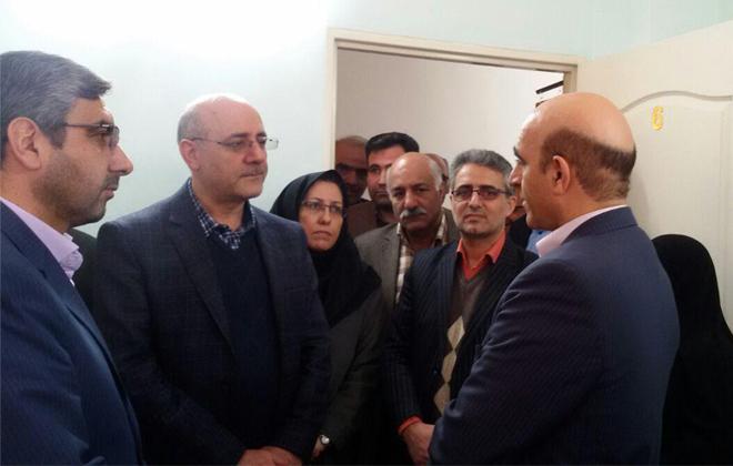 افتتاح مرکز سلامت خانواده راه آسمان در فرهنگسرای امید خانواده12بهمن 1396