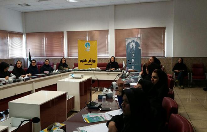 برگزاری جلسه آموزش و پیشگیری از سرطان در شرکت پارمیدا سمنان97/3/8