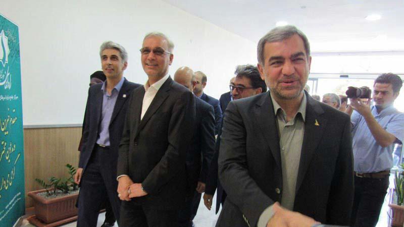 افتتاح مرکز پزشکی هسته ای راه آسمان سمنان با حضور دکتر سید محمد هادی ایازی ومسئولین محترم استان