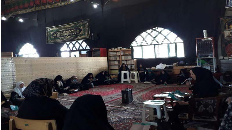 برگزاری جلسه آموزش و پیشگیری  از سرطان در بیت الزهرا سمنان