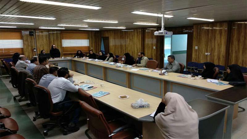 برگزاری جلسه آموزش پیشگیری از سرطان در معاونت اجتماعی دانشگاه علوم پزشکی سمنان 97/4/31