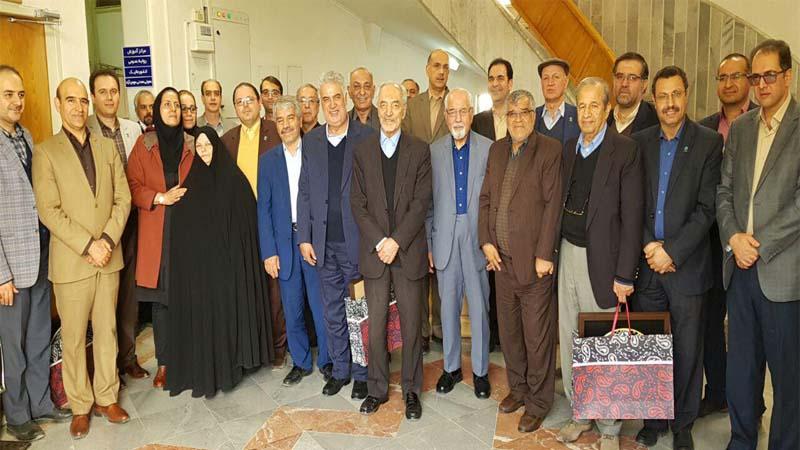 حضور خیرین شاخص کشور در موسسه راه آسمان 5 بهمن 1396