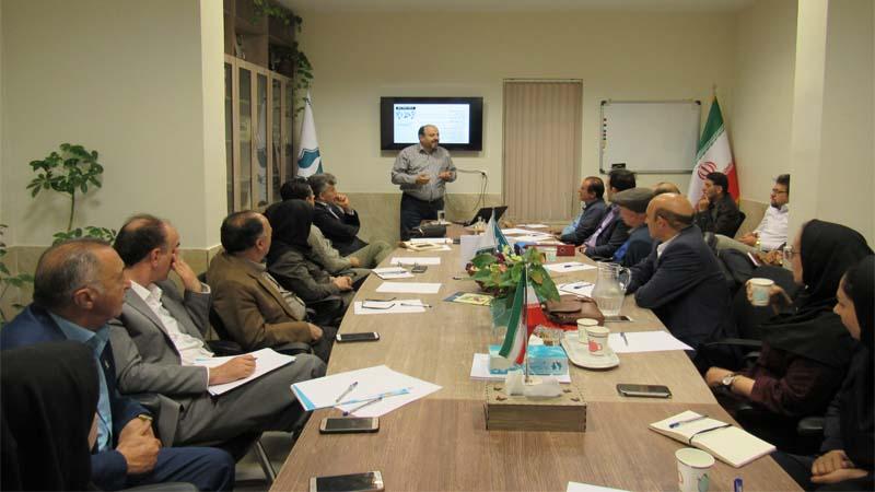 برگزاری جلسه آموزشی و هماهنگی سیستم مدیریت (Iso) در موسسه راه آسمان 3اردیبهشت97