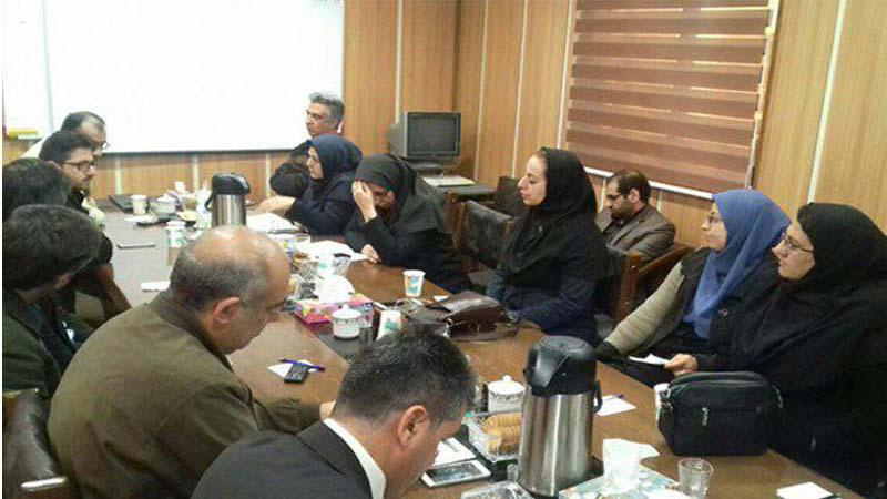 حضور نماینده راه آسمان در جلسه مشترک معاونت بهداشتی دانشگاه علوم پزشکی