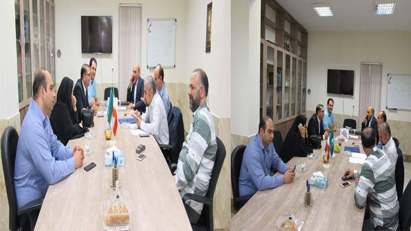 جلسه هیأت مدیره با حضور اعضاء 4 شهریور 97