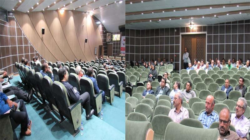 برگزاری  جلسه آموزشی موسسه راه آسمان، در اداره امور مالیاتی استان سمنان 6 شهریور 97