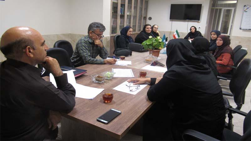 برگزاری جلسه کمیته آموزش و پیشگیری 2 مهر 97