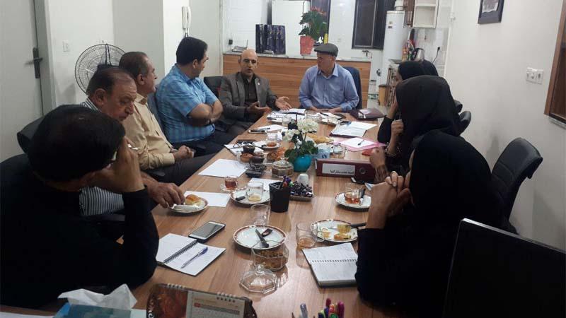 برگزاری جلسه کمیته جذب مشارکتها