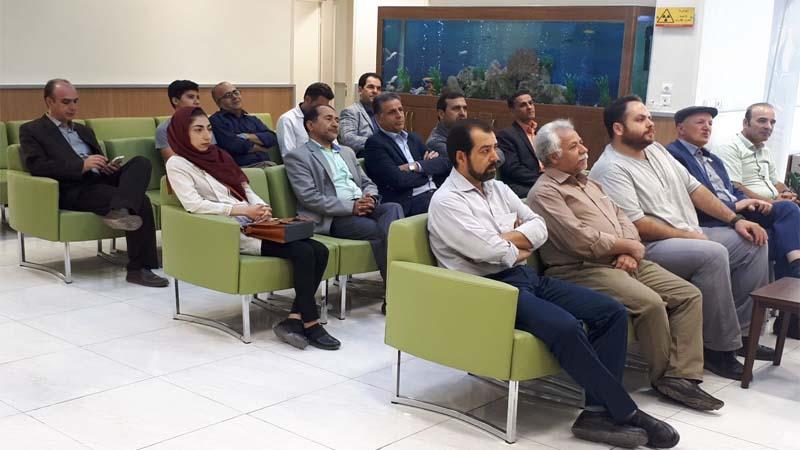 اعلام حمایت اتحادیه صنف لوازم خانگی سمنان از اقدامات مرکز پزشکی هسته ای راه آسمان