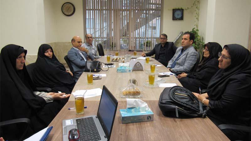 تشکیل جلسه هماهنگی و هم فکری بین موسسه راه آسمان و انجمن کومش 17 شهریور 97