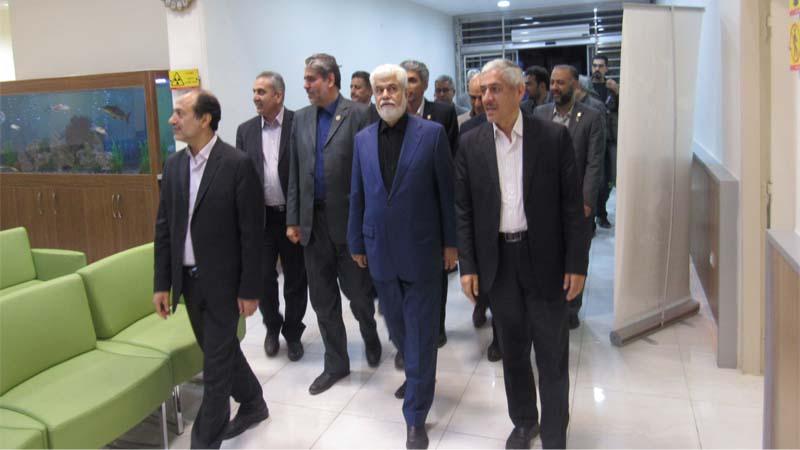 بازدید آقای دکتر شهریاری به همراه اعضای کمیسیون از مرکز پزشکی هسته ای راه آسمان 29 مهر
