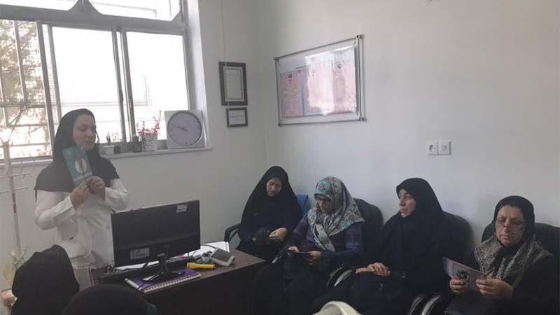 برگزاری جلسه آموزشی توسط مدرس راه آسمان در درمانگاه شهید مطلبی11 مهر 97