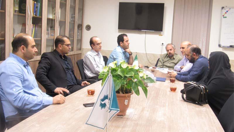 برگزاری جلسه هئیت مدیره راه آسمان 8 مهر 97
