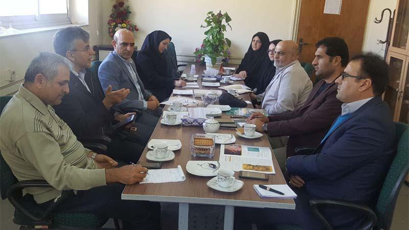 اولین جلسه کارگروه کمیته آموزش و پیشگیری راه آسمان با اداره آموزش و پرورش استان سمنان 1397/9/28