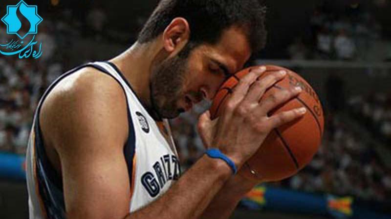 سپاس از حامد حدادی؛بسکتبالیست معروف و پرافتخار ایران بخاطر حمایت از راه آسمان