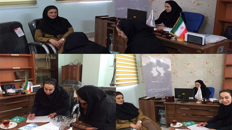 اطلاع رسانی پیشگیری از سرطان در فرهنگسرای امید خانواده 4 بهمن 97