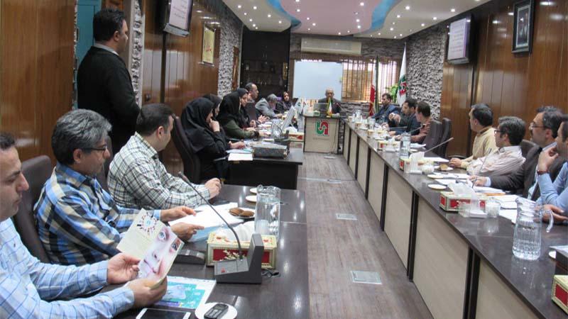 برگزاری جلسه آموزشی راه آسمان برای کارکنان اداره کل حمل و نقل و پایانه استان سمنان