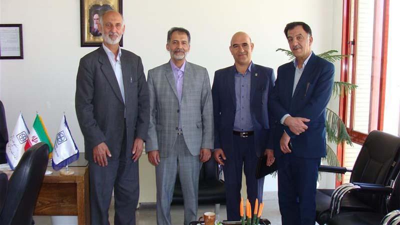 دیدار مدیر عامل راه آسمان با ریاست دانشکده پزشکی؛ جناب آقای دکتر مجید جدیدی