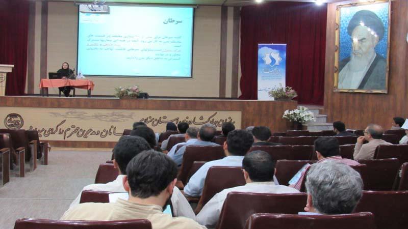 آموزش پیشگیری از سرطان به کارکنان سازمان جهاد کشاورزی استان سمنان
