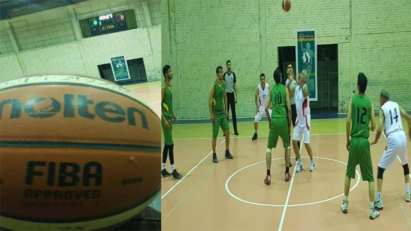 حمایت هیأت بسکتبال و پیشکسوتان استان سمنان بویژه داور بین المللی بسکتبال جناب صالحیان از راه آسمان