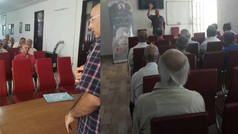 برگزاری کارگاه آموزش پیشگیری از سرطان در کانون بازنشستگان آموزش و پرورش شاهرود ویژه آقایان