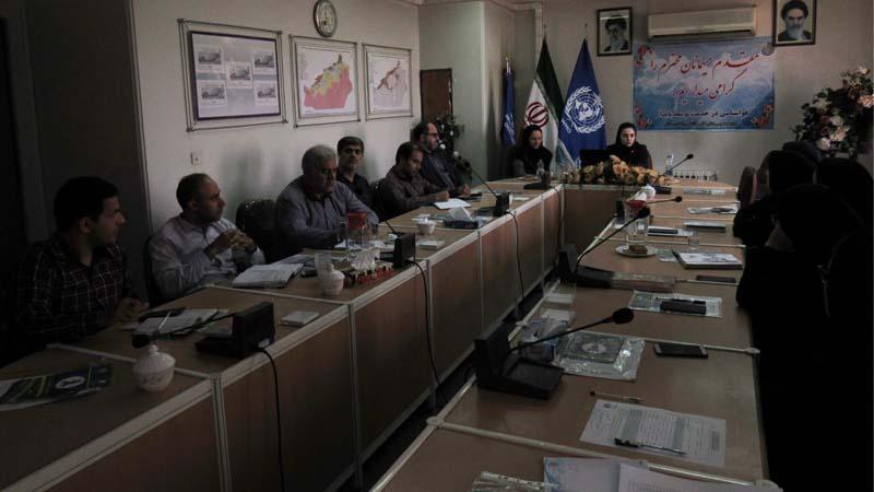 برگزاری کارگاه آموزش پیشگیری از سرطان در اداره کل هواشناسی استان