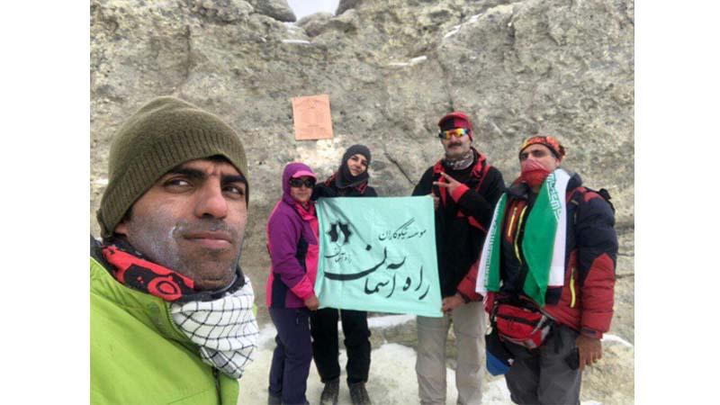"""""""همنوردان راه آسمان بر فراز بام ایران؛ دماوند"""""""