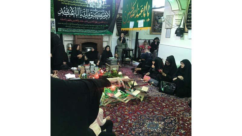 """""""کارگاه آموزش و پیشگیری از سرطان در مراسم عزاداری امام حسین(ع)"""""""