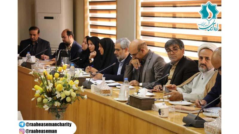 برگزاری کارگروه اجتماعی، فرهنگی و سلامت استان با حضور مدیرعامل راه آسمان در استانداری