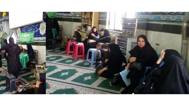 جلسه آموزشی راه آسمان در مسجد حضرت ابوالفضل(ع)