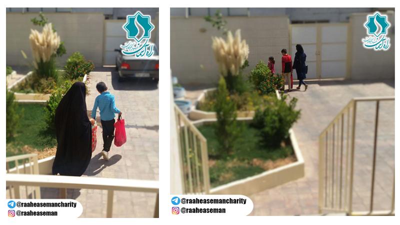 توزیع پک های لوازم التحریر و آغاز ماه مهر با لبخند دانش آموزان تحت پوشش بنیاد راه آسمان