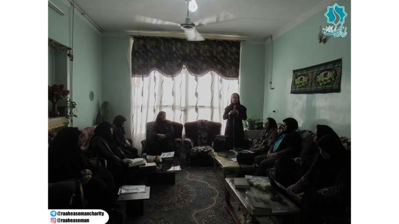 """""""برگزاری کارگاه آموزشی راه آسمان در محفل مذهبی"""""""