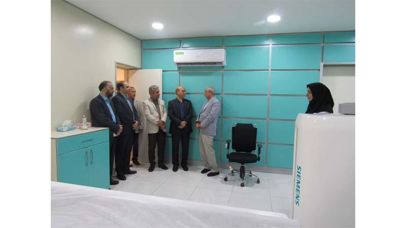 بازدید جناب آقای اصغر وثوق؛ مدیر عامل انجمن خیریه مهرانه زنجان از مرکز پزشکی هسته ای راه آسمان