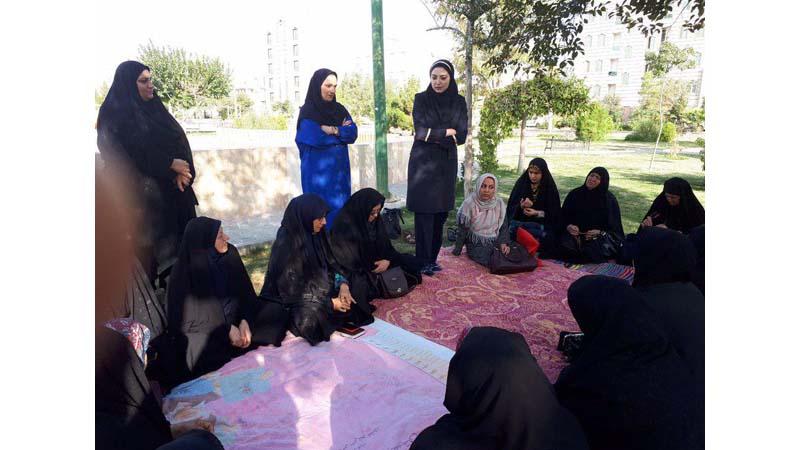 """""""برگزاری کارگاه آموزشی راه آسمان برای رابطین بهداشتی مرکز شهید مطلبی"""""""