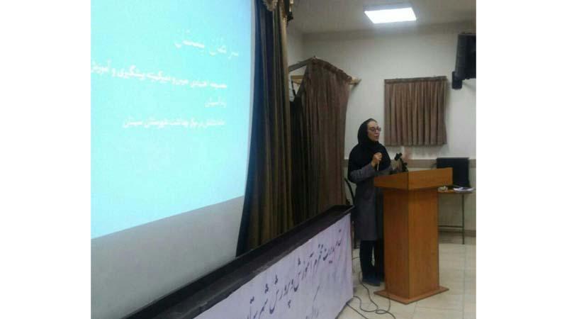 """""""برگزاری جلسه آموزشی راه آسمان در کانون شهید دامغانیان"""""""