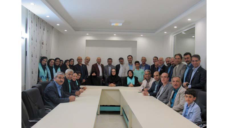 افتتاح دفتر بنیاد نیکوکاران راه آسمان در شاهرود