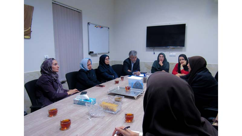 جلسه مشترک کمیته آموزش و پیشگیری با انجمن علمی و آموزشی معلمان ابتدایی
