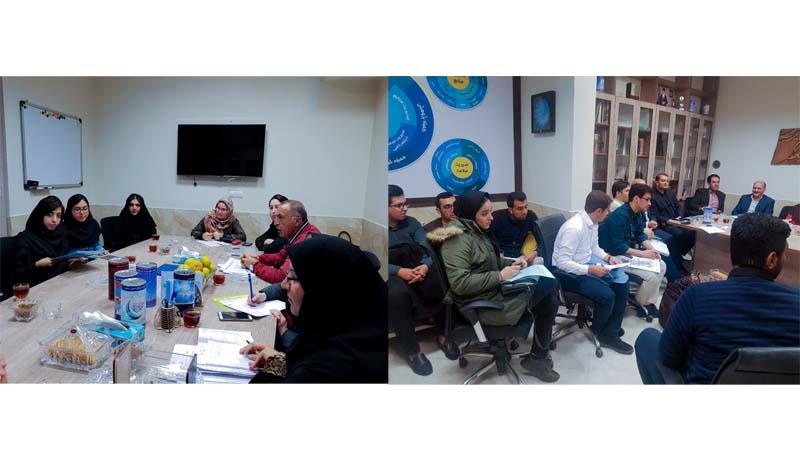 جلسه مشترک مدیریت توسعه مشارکتها با دانشجویان بمنظور تعامل و همکاری بیشتر در امور خیر خواهانه