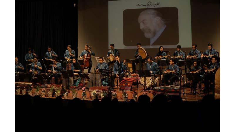 اجرای کنسرت موسیقی سنتی گروه بزرگ ارغوان در حمایت از بنیاد نیکوکاران راه آسمان