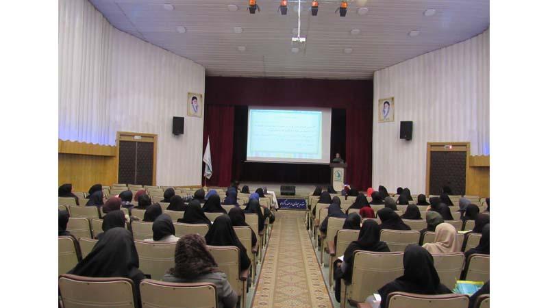 کلاس آموزش پیشگیری از سرطان ویژه ی معلمان در سالن ابن سینا مرکز پزشکی هسته ای راه آسمان